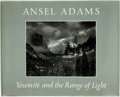 Books:Photography, Ansel Adams. SIGNED. Yosemite and the Range of Light. Boston: New York Graphic Society, [1981]. Fourth printing. S...