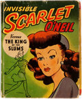 Books:Children's Books, [Big Little Books]. Invisible Scarlet O'Neil versus The King ofthe Slums. Racine: Whitman Publishing, 1946. Origina...