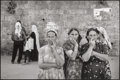 Photographs:Gelatin Silver, LEONARD FREED (American, 1929-2006). Jewish Women in Arab Quarter, Jerusalem, Israel, 1968. Gelatin silver, printed late...