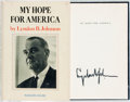 Books:Americana & American History, Lyndon B. Johnson. SIGNED. My Hope for America. New York:Random House, [1964]. First edition. Signed by the autho...