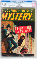 Golden Age (1938-1955):Horror, Journey Into Mystery #3 (Marvel, 1952) CGC VG+ 4.5 White pages....