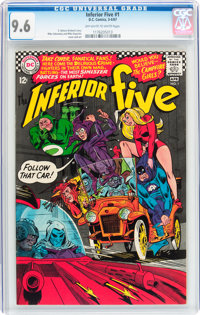 The Inferior Five #1 (DC, 1967) CGC NM+ 9.6 Off-white to white pages