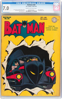 Batman #20 (DC, 1943) CGC FN/VF 7.0 Cream to off-white pages
