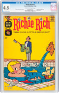Silver Age (1956-1969):Humor, Richie Rich #1 (Harvey, 1960) CGC VG+ 4.5 Cream to off-white pages....