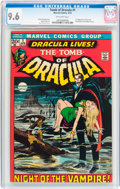 Bronze Age (1970-1979):Horror, Tomb of Dracula #1 (Marvel, 1972) CGC NM+ 9.6 Off-white pages....