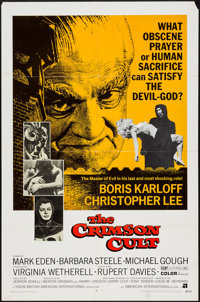 """The Crimson Cult & Others Lot (American International, 1970). One Sheets (3) (27"""" X 41""""). Horror..."""