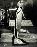 Books:Prints & Leaves, [Ziegfeld Follies]. Oversized Reprint Photograph of Dolores onZiegfeld Follies Stage. Approximately 11 x 14 inches. Light e...