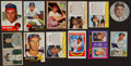 Baseball Cards:Lots, 1950's-1970's Topps, Post, Jell-O Plus Others Baseball CardCollection (100+). ...