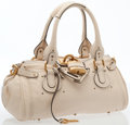 Luxury Accessories:Bags, Chloe Ivory Leather Paddington Bag . . . ...