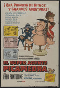 "Movie Posters:Animated, The Man Called Flintstone (Columbia, 1966). Argentinean Poster (29""X 43""). Animated. ..."