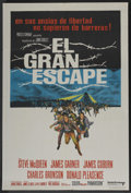 "Movie Posters:War, The Great Escape (United Artists, 1963). Argentinean Poster (29"" X43""). War. ..."
