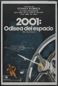 """Movie Posters:Science Fiction, 2001: A Space Odyssey (MGM, 1968). Argentinean Poster (29"""" X 43.5""""). Science Fiction. ..."""