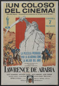 """Movie Posters:Academy Award Winner, Lawrence of Arabia (Columbia, 1962). Argentinean Poster (29"""" X 43""""). Academy Award Winner. ..."""