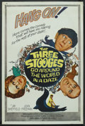 """Movie Posters:Comedy, The Three Stooges Go Around the World in a Daze (Columbia, 1963). One Sheet (27"""" X 41""""). Comedy. ..."""
