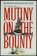 "Movie Posters:Adventure, Mutiny on the Bounty (MGM, 1962). One Sheet (27"" X 41"") Style A.Adventure. ..."