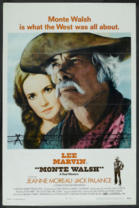 "Monte Walsh (National General, 1970). One Sheet (27"" X 41""). Western"