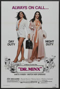 "Movie Posters:Sexploitation, Dr. Minx (Dimension Films, 1975). One Sheet (27"" X 41"").Sexploitation. ..."