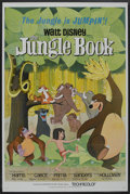 "Movie Posters:Animated, The Jungle Book (Buena Vista, 1967). One Sheet (27"" X 41"").Animated. ..."