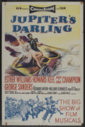 "Movie Posters:Musical, Jupiter's Darling (MGM, 1955). One Sheet (27"" X 41""). Musical. ..."