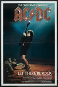 "Movie Posters:Rock and Roll, AC/DC: Let There Be Rock (Warner Brothers, 1982). One Sheet (27"" X41""). Rock and Roll. ..."