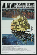"""Movie Posters:Science Fiction, Conquest of the Planet of the Apes (20th Century Fox, 1972). OneSheet (27"""" X 41"""") Style B. Science Fiction. ..."""