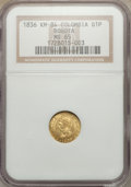 Colombia, Colombia: Republic gold Peso 1836 KM-RS MS65 NGC,...
