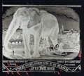 Books:Prints & Leaves, [Jumbo the Elephant]. Oliver Jensen. Negative Transparency Print ofBarnum and Bailey Handbill Cover. Approximately 10 x 12 ...