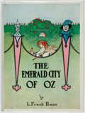 Books:Children's Books, L. Frank Baum. The Emerald City of Oz. Chicago: Reilly &Lee Co., stated 1910 but printed later. Early printing....