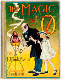 Books:Children's Books, L. Frank Baum. The Magic of Oz. Chicago: Reilly & LeeCo., 1919. First edition. Octavo. Illustrated by John R. N...
