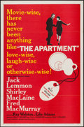 """Movie Posters:Comedy, The Apartment (United Artists, 1960). One Sheet (27"""" X 41"""") &Uncut Pressbook (4 Pages, 11"""" X 17""""). Comedy.. ... (Total: 2 Items)"""