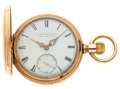 Timepieces:Pocket (post 1900), E. Howard & Co. 15 Jewel Series IV Hunter's Case. ...