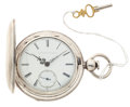 Timepieces:Pocket (pre 1900) , E. Howard & Co. 15 Jewel Series III Key Wind Hunter's Case. ...