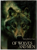 Books:Natural History Books & Prints, Barry Holstun Lopez. Of Wolves and Men. New York: Charles Scribner's Sons, 1978. First edition. Octavo. Illustra...