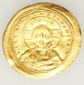 Ancients:Byzantine, Ancients: Constantine IX Monomachus (1042-1055). AV histamenonnomisma (4.30 gm)....