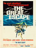 "Movie Posters:War, The Great Escape (United Artists, 1963). Poster (30"" X 40"").. ..."