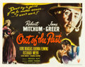 "Movie Posters:Film Noir, Out of the Past (RKO, 1947). Half Sheet (22"" X 28"") Style B.. ..."