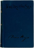 Books:Literature Pre-1900, Victor Hugo. Toilers of the Sea. New York: George Routledge and Sons, [n.d., circa 1899]. Complete in one volume...