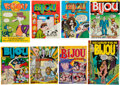 Bronze Age (1970-1979):Alternative/Underground, Bijou Funnies Complete Run #1-8 Group (Bijou/Kitchen Sink, 1968-73) Condition: Average FN.... (Total: 8 Comic Books)