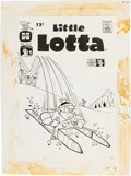 Original Comic Art:Covers, Warren Kremer Little Lotta #40 Cover Original Art (Harvey,1962)....