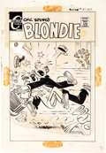 Original Comic Art:Covers, Paul Fung Jr. (attributed) Blondie #181 Cover Original Art(Charlton, 1969)....