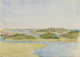 CHARLES STUART FORBES (American, 1860-1926) Estuary Watercolor on paper 9-7/8 x 13-7/8 inches (25.1 x 35.2 cm) (sheet