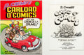Original Comic Art:Covers, Robert Crumb Carload O' Comics Cover and Title Page OriginalArt (Belier Press, 1976)....