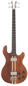 Musical Instruments:Bass Guitars, Late 1970's Kramer 450-B Natural Electric Bass Guitar, #A0747....