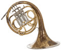 Musical Instruments:Horns & Wind Instruments, 1969 Miraphone Brass French Horn, #4943....
