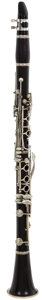 Musical Instruments:Horns & Wind Instruments, 1960 SML Black Clarinet, #N/A....
