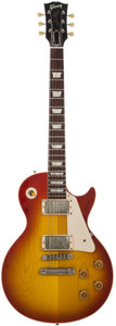 Musical Instruments:Electric Guitars, 2008 Gibson Les Paul Standard R-8 Cherry Sunburst Solid BodyElectric Guitar, #8 7071. ...
