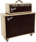 Musical Instruments:Amplifiers, PA, & Effects, 1962 Fender Bassman Blonde Guitar Amplifier, #BP01138....