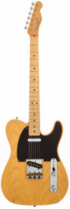 Musical Instruments:Electric Guitars, 1994 Fender '52 Reissue Telecaster Butterscotch Blonde Solid BodyElectric Guitar, #17432.. ...