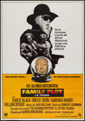 """Movie Posters:Hitchcock, Family Plot (Universal, 1976). Spanish Poster (27.5"""" X 39.5"""") & German A1 (23.25"""" X 33""""). Hitchcock.. ... (Total: 2 Items)"""