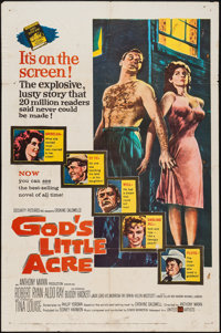 "God's Little Acre (United Artists, 1957). One Sheet (27"" X 41""). Drama"